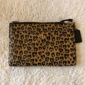 Coach Leopard Print Crossbody Bag